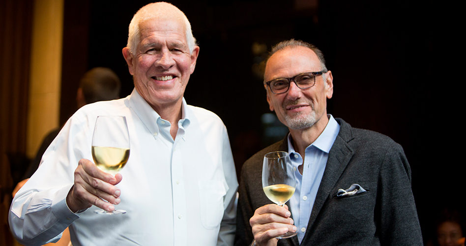 Peter Oliver & Michael Bonacini — Jump's 25th Anniversary Party