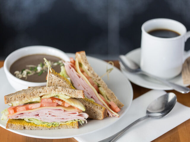 sandwich and soup combo