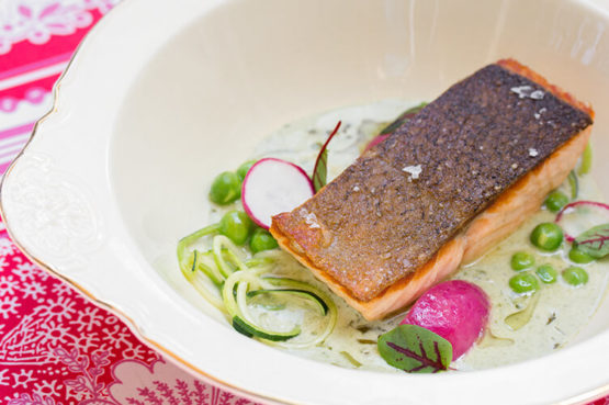 Summerlicious 2018 - Salmon & Sorrel