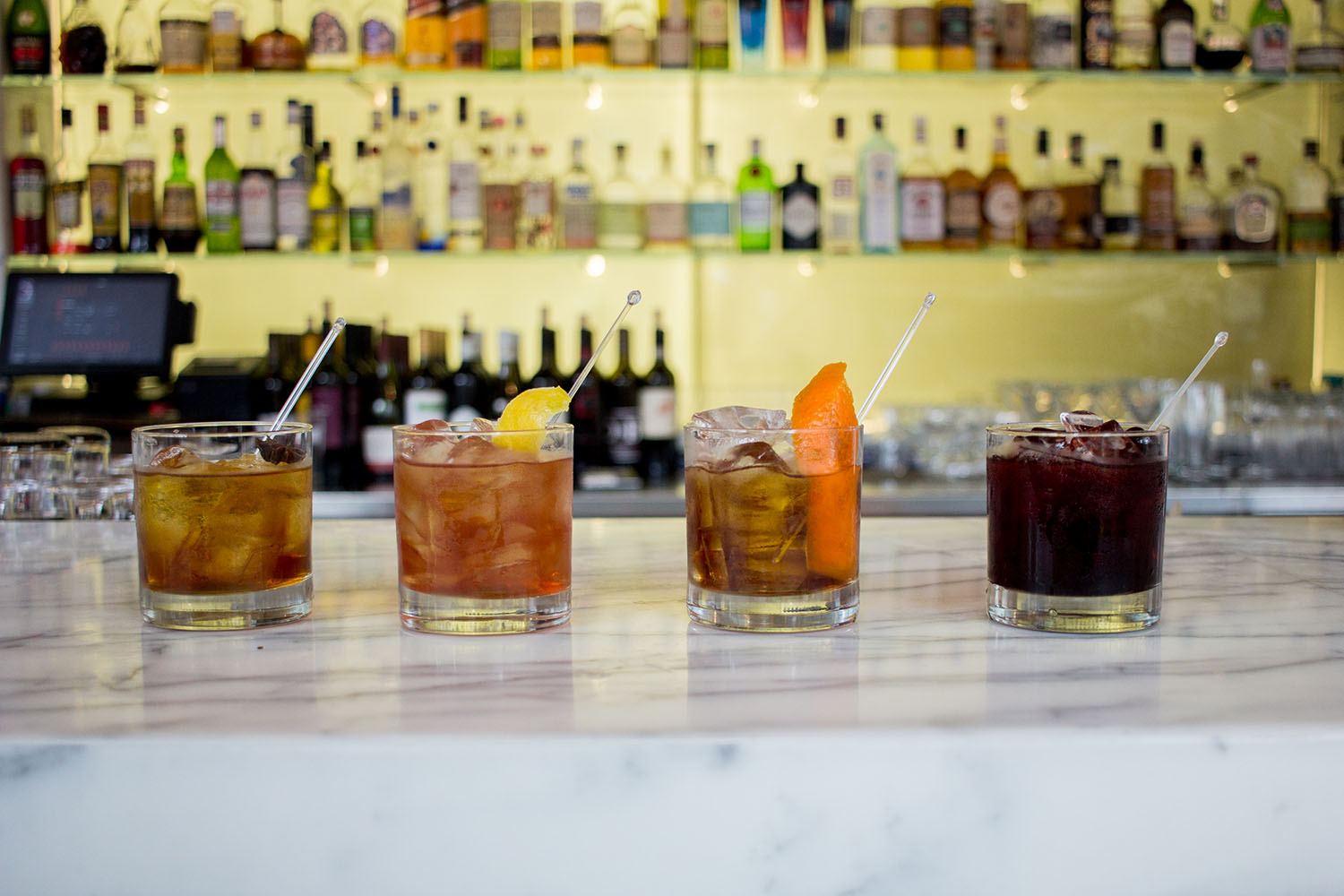 Luma Magic Hour Manhattans