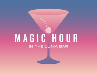 Magic Hour in the Luma Bar - Happy Hour Toronto