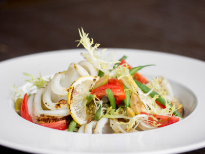 Grilled Calamari for Luma Summerlicious