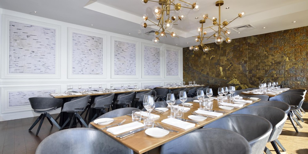 Canoe's East Private Dining Room