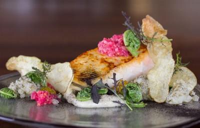 smoked white spring salmon - photo by Cindy La