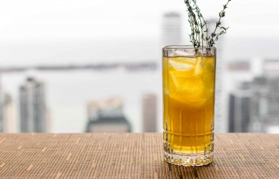 Canoe Spring Thyme Cocktail