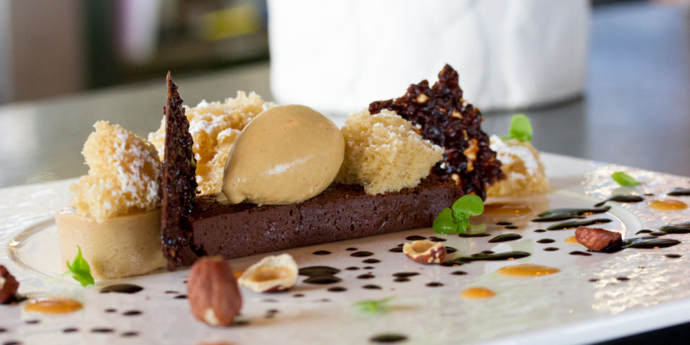 Canoe Chocolate Torte for Valentine's Day