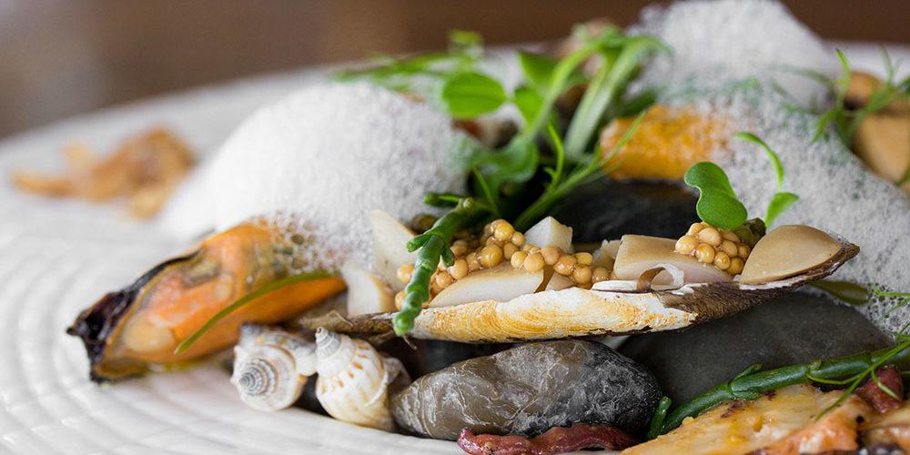 Haida Gwaii Seafood Dish at Canoe