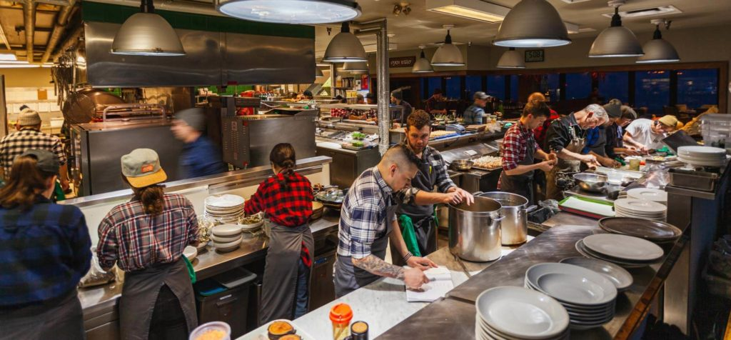 Behind the scenes in Canoe's kitchen