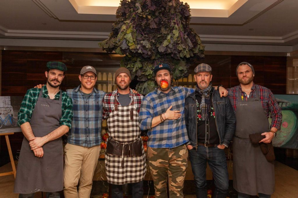 Toronto and Montreal chefs from Canoe Wild 2020