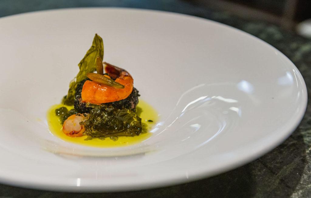Chef Walsh's shrimp