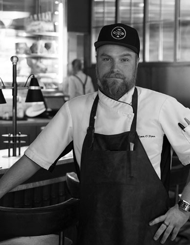 Executive Chef Ryan O'Flynn