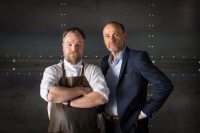 Chefs Ryan O'Flynn and Michael Bonacini