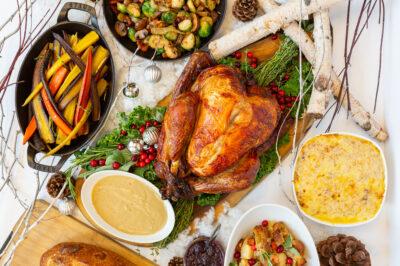 holiday christmas feast