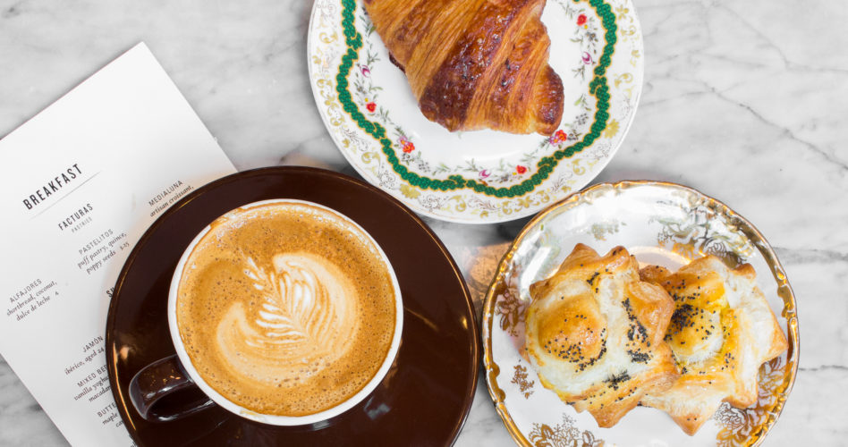 Coffee & Pastries at Leña for breakfast