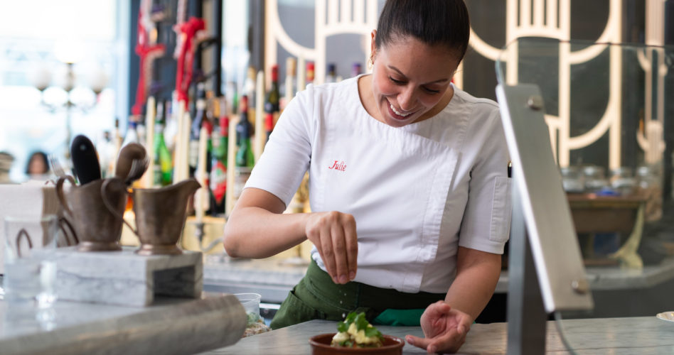 Chef Julie Marteleira