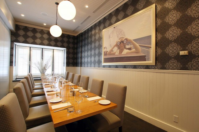 O&B Café Grill, Private Dining