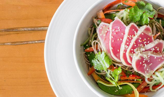 Seared Tuna at O&B Café Grill, Bayview Village