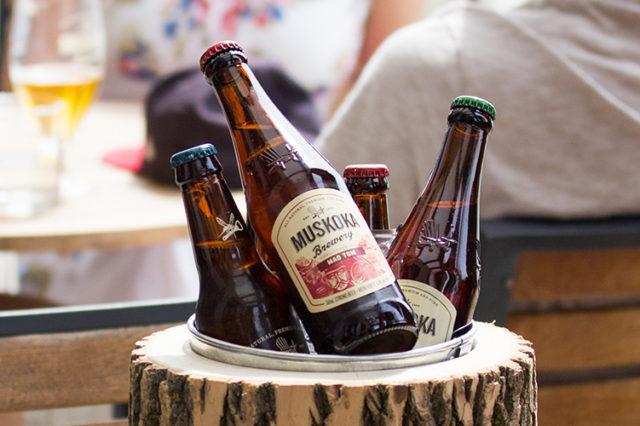 Muskoka seasonal bottles