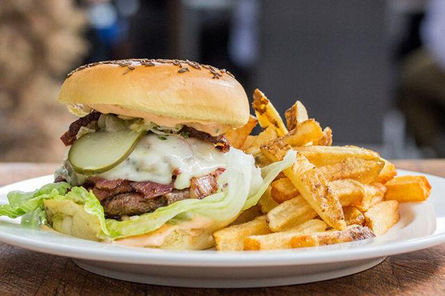 Burger Fest Toronto - Reuben Burger