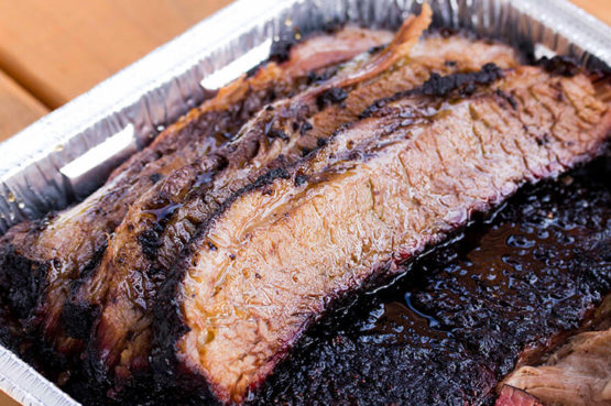 Beauty Barbecue & Smokehouse Beef Brisket