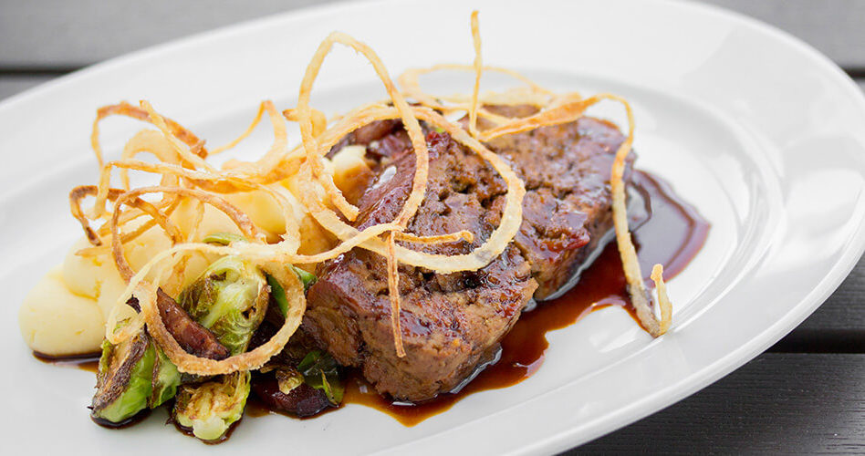 BBQ Glazed Meatloaf