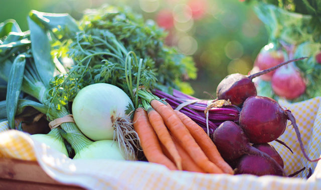 photo of onions, carrots and beets
