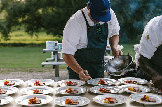 Chefs Prep Line OBCG Blue Mountain Catering Services