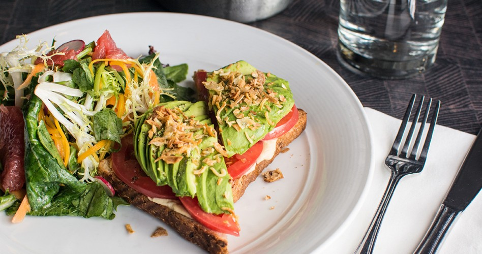 O&B Oakville Avocado Toast