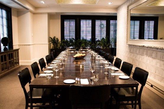 Private Dining at O&B Café Grill