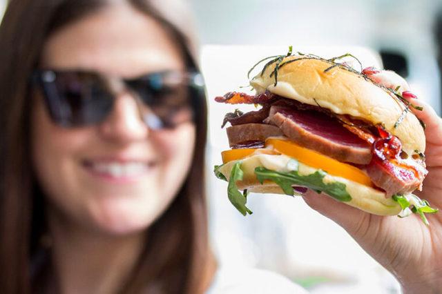 Burger Fest Toronto - Tuna BLT Burger