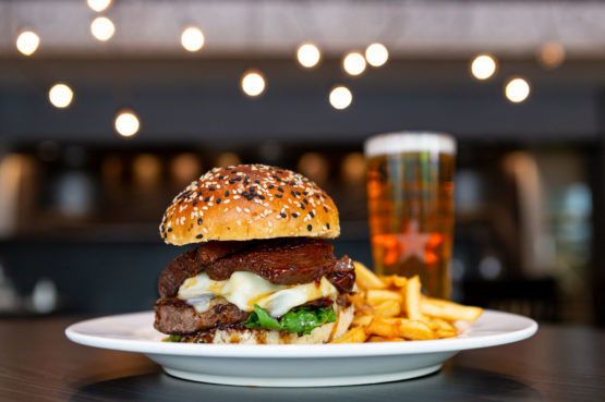 Mushroom & Short Rib Cheeseburger