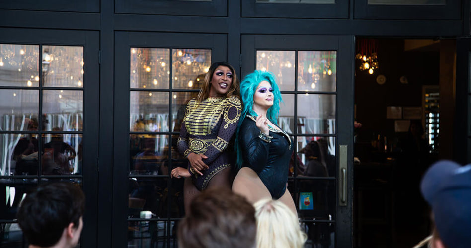 Drag Brunch with Tynomi Banks and Helena Poison at Yonge and Front Cafe Grill