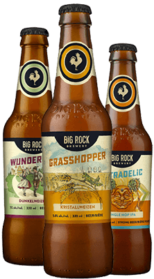 Big Rock Brewery Beer