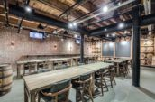 Private Dining in the Barrel Room at Liberty Commons