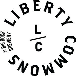 Liberty Commons Big Rock Brewery Logo