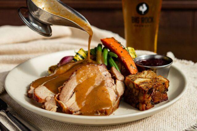 Liberty Commons Thanksgiving turkey dinner