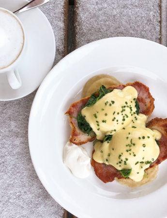 Pierogi Eggs Benedict