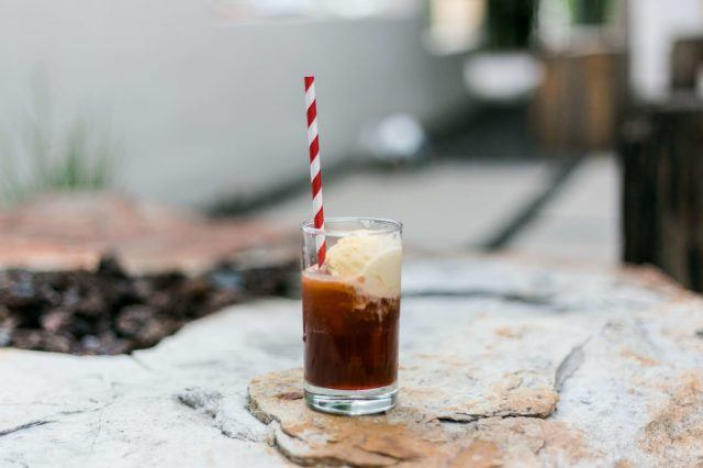 coca cola float