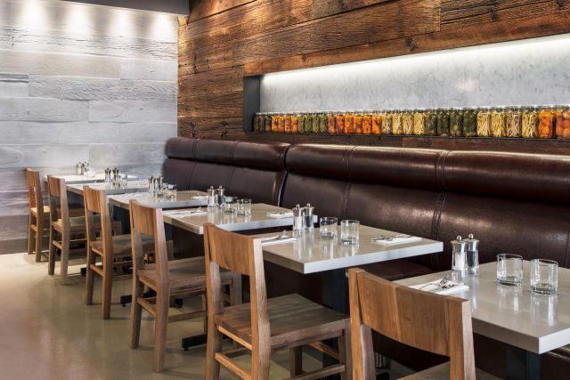 Bannock Restaurant Interior