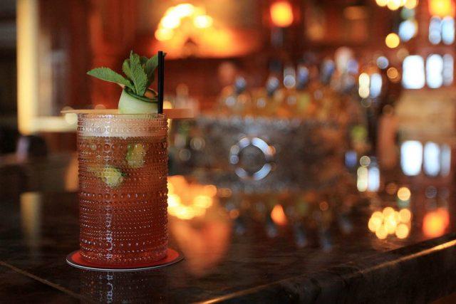 Drinks at Bar George