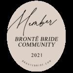 Bronte Bride Community Badge