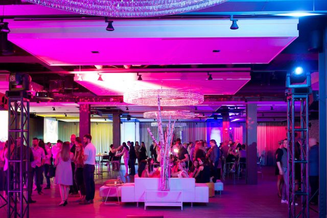 Corporate event venue at Hudson Event Space