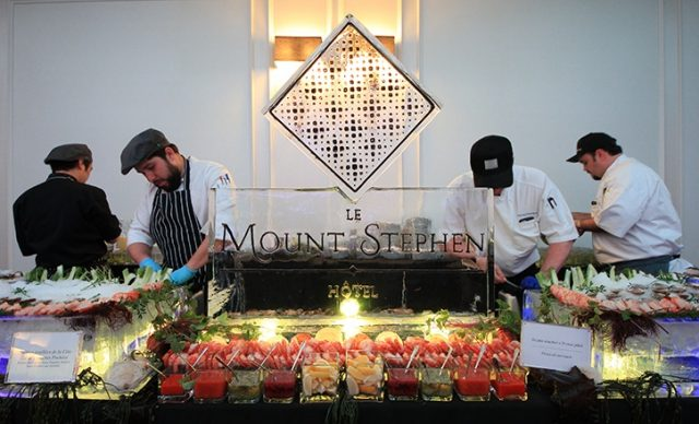 Raw Bar at Le Mount Stephen events