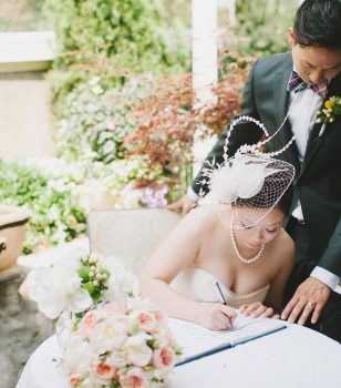 Toronto Wedding Venue - image of the bride and groom