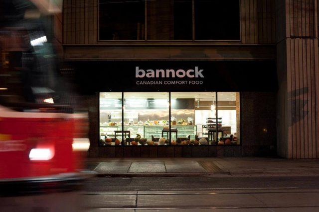 Bannock Restaurant Exterior