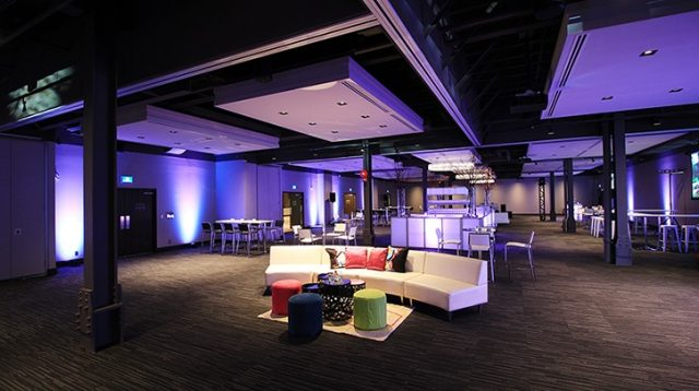 Hudson Event Space in downtown Calgary