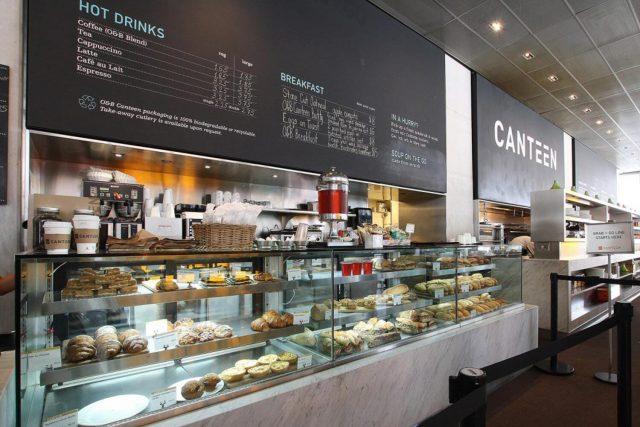 Canteen Grab & Go Counter