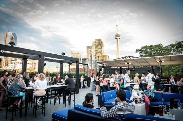 Cube Nightclub Toronto - skyline views