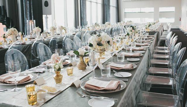 Host a modern wedding at Malaparte event venue in Toronto