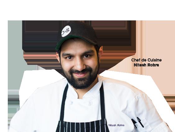 Chef Nitesh Rohra
